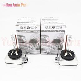 Wholesale Headlights Audi - 2pcs Car Headlights Xenon D1S HID Bulb Lamp 4300K For Audi Volkswagen VW Skoda Seat