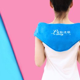 Wholesale Heat Shoulders - 110*20cm Sea Salt Flannelette Heat Pack with LCD Digital Display Knee Neck Cervical Shoulder Hot Compress Traditional Chinese Medicine Bags