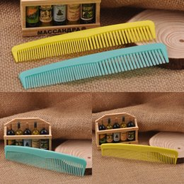 Wholesale Brush Hairdresser - 2 Pcs lot Hair Combs Plastic Hairdressing Combs Hair Comb Hairdresser Hair Styling Salon Comb