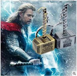 Canada Porte-clés de haute qualité et pas cher porte-clés en gros The Avengers Thor marteau porte-clés super-héros de film accessoires pour hommes cheap cheap wholesale accessories quality Offre