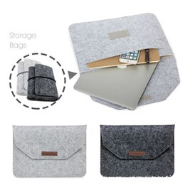 Wholesale Macbook Air Soft Cover - Soft Sleeve Bag Case For Apple Macbook Air Pro Retina 11 12 13 15 Laptop Anti-scratch Cover For Mac book 13.3 inch