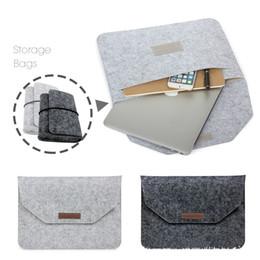 Wholesale Apple Macbook Pro 13 Case - Soft Sleeve Bag Case For Apple Macbook Air Pro Retina 11 12 13 15 Laptop Anti-scratch Cover For Mac book 13.3 inch