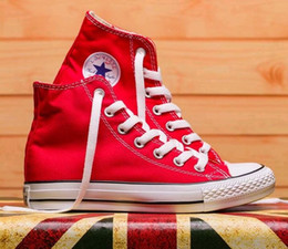 Wholesale Star Light Floor - 2017 New star big Size 35-45 High top Casual Shoes Low top Style sports stars chuck Classic Canvas Shoe Sneakers Men's Women's Canvas Shoes