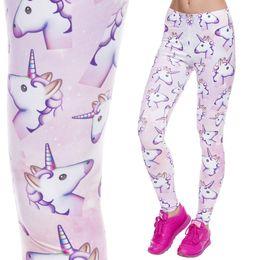 Wholesale Plus Size Floral Leggings - Wholesale- Deanfun 2017 New Plus Size Girls Digital Print Animal Floral Patterns leggings Women Legging