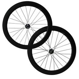 Wholesale Tubular Disc Cyclocross Wheels - 700C Full Carbon Wheels 12mm 15mm 12x142mm Thru Axle 6 Bolt Disc Brake hubs 60mm Clincher Tubular carbon Cyclocross bike wheel