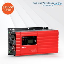 Wholesale 1kw Pure Sine Wave Inverter - MUST Power Pure Sine Wave Low Frequency Power Inverter EP3000 1kW by SolarBaba