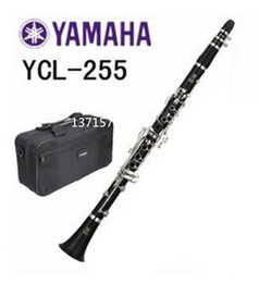 Wholesale Nickel Resin - Wholesale-musical instrument clarinet YCL-255 High Quality 17 Keys Crampon Clarinet with Playing Accessories for Musical