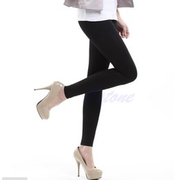 Wholesale Leg Shaping Stockings - Wholesale- Women Black Slim Beauty Leg Shape Compression Burn Fat Thin Pantyhose Stocking free shipping