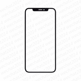 Wholesale Iphone Oem - 50PCS OEM Front Outer Touch Screen Glass Lens Replacement for iPhone X 5.8inch free DHL