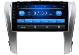 Tv für car camry online-Freies Verschiffen-android 6.0 10,1 Zoll Auto Dvd Gps für Toyota Camry 2015 4-Kern-Lenkrad-Steuerung wifi DVR Unterstützung