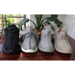 Wholesale Cheap Women Oxfords - Cheap milan fashion boost 350 oxford tan kanye west moonrock Best Quality running Authentic 350 Sneaker With Box women Size 13
