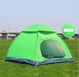 Wholesale Blue Hydraulics - Quick Automatic Opening Tent Hydraulic Automatic Tent Camping Shelters UV protection Waterproof Protective Outdoors camping Tents