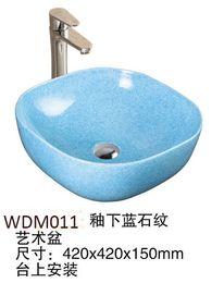 Wholesale Ceramic Art Basin - Ceramic art wash basin Sink Oval stape for bathroom and hotel marble basin for globele market