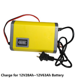 Wholesale Motorcycle Charge - 12V6A Battery Charger for Car Motorcycle lead acid Battery Maintenance Free Battery Intelligent Charging Auto-Stop