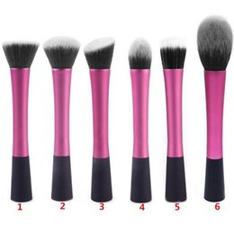 Wholesale Hair Brusher - Hot Sales Pro Liquid Foundation Brusher Face Powder Makeup Brushes Cosmetic Tool Beauty Synthetic Hair TX320 Free Shipping