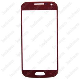 100шт передняя внешний сенсорный экран замена стекла для Samsung Galaxy S4 Mini i9190 i9195 supplier s4 mini front screen glass от Поставщики s4 мини-стекло переднего стекла