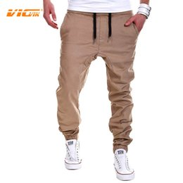 Wholesale Working Pants - Wholesale-VICVIK Brand Mens Casual Pants Male Trousers Work Pants Men Khaki Trousers Mens Leggings Jogger Pants