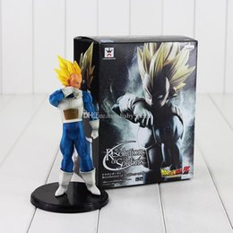 Wholesale Dragon Ball Action Toy - 20cm Anime Dragon Ball Vegeta PVC Action Figure Collection Model Toys For Kids Christmas Gift free shipping retail