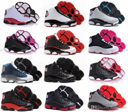 Wholesale Youth Basketball Shoes Cheap - Cheap Children Athletic Retro Boys Girls 13 XIII Sneakers Youth Kids Sports Basketball Sneakers Shoes For Sale EU28-35