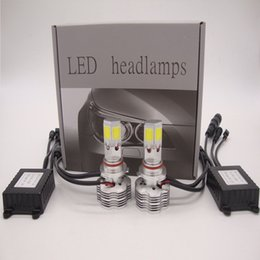 Wholesale H7 Cree Led Headlight Bulb - CREE 4 Sides LED Conversion Kit Headlight 180W 18000LM All in One Bulb White Light Lamp H4 H7 H11 H13 9005 9006 9007