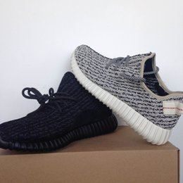 Wholesale Cheap Brown Oxfords - 2017 Cheap Wholesale boost 350 pirate black turtle dove moonrock oxford Tan Men Women Running Shoes kanye west 350 Boost With Box