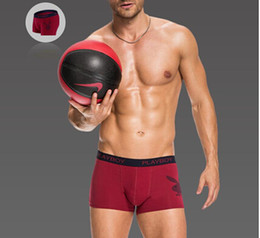 Wholesale Stretch Cotton Boxers - Wholesale - Playboy Gift Box stretch cotton mens underwear underpants pants hip