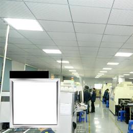 lampade da cucina Sconti Luci a pannello LED Ceilling 48W 36W AC85-265V 110V 600 * 600mm PF0.9 85LM Lampade rettangolari quadrate Lega di alluminio + Acrilico diretto Shenzhen Cina