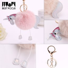 Stuffed Animals & Plush The Best 1pc Cute Ballet Rabbit Pompom Ball Plush Keychain For Car Bag Home Hanging Decoration Best Birthday Gifts