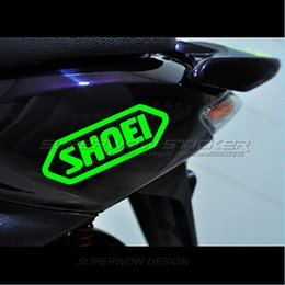 Wholesale Electric Door Car - shoei Electric car car stickers reflective waterproof locomotive stickers decals Professional car with high-strength reflective film