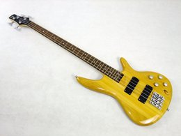 Wholesale Electric Guitars 24 Frets - Free shipping Brand new 4 strings 24 frets electric bass guitar in multi color