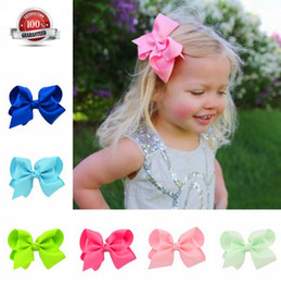 20 Colors Baby Ties Boutique Grosgrain Ribbon Pinwheel Hair Bows Attached With Alligator Clips For Teens Girls Babies Toddlers Gifts acc005 Coupons