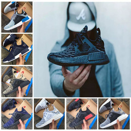 Wholesale Women Shoes Skull - Wholesale XR1 Running Shoes Mastermind Japan Skull Fall Olive green Camo Glitch Black White Blue zebra Pack men women trainers sports shoes