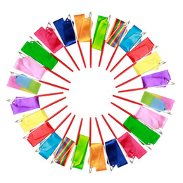 Ginnastica ritmica Gimnasia Ritmica RG Ribbon 4 Meters Bambino adulto Puntelli Bastone da ballo 5 cm Larghezza sport Equipaggiamento Colori da regali ginnastici fornitori