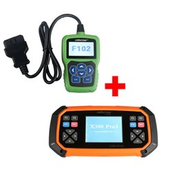 Wholesale Chrysler Pin Code Reader - Christmas promotion!! OBDSTAR X300 PRO3 X-300 Key Master Plus OBDSTAR F102 Nissan Infiniti Automatic Pin Code Reader free shipping