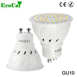 Wholesale Spot Luz - Wholesale- ECO CAT Lampada LED Lamp GU10 220V 3W 5W 7W 9W 5050 2835 SMD Ampoule LED Spotlight Bombillas LED Bulb Spot light Candle Luz