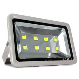 Wholesale High Powered Led Floodlight - High Power 400W LED Flood Light Outdoor Waterproof IP65 AC 85-265V Floodlight Tunnel Lamps Square Garden LED Projectors Background Light
