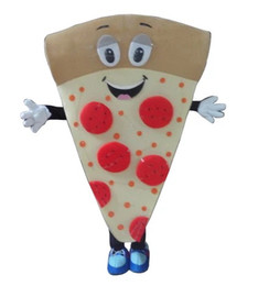 Wholesale Food Photos - 100% the same as photo Carnival food outfits pizza mascot costume for party cartoon character mascots for sale