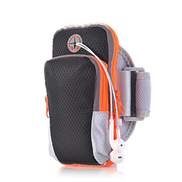 Wholesale Pocket Music - Wholesale- ULTRA-TRI Running Listen Music Arm Band Pouch Water Resistant Sports Bag Armband Pockets Workout Jogging for 5.5'' Phone iPhone