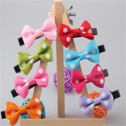 Discount baby girl bows diy - Baby Girls Hair Bow Clip DIY Mini Children's Hair Accessories Baby Girls Hair Bows Clips Wholesale Hairpin Alligator Clip Jewelry Barrette