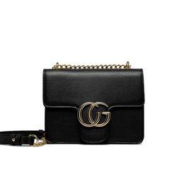 Wholesale European Hand Bags - New 2017 women chain single shoulder messenger hand bag female evening bag black red