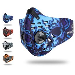 Wholesale Dust Caps For Bikes - Wholesale- Mounchain Outdoor Running Riding Active Carbon Dust Proof Breathable Comfortable Bike Mask Multiple Colors for Choice