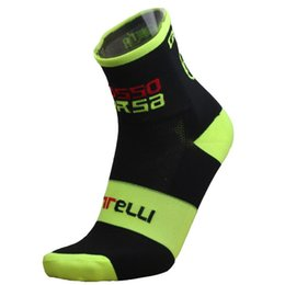 Wholesale Coolmax Cotton - Wholesale New 2017 Mountain Bike Socks Cycling Sport Socks Racing Cycling Socks Coolmax Material Free Shipping