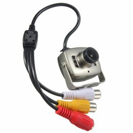 Wholesale Minidv Recorders - NEW Portable Wired Mini Video Color Security CCTV Surveillance Camera Camcorder Night Vision Infrared Video Recorder