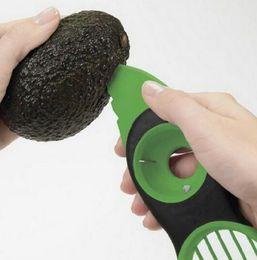 Wholesale Fruit Pitter - Good Grips Gadget 3-IN-1 Avocado Slicer with Knife Slicers Pitter Peeler Scoop Kitchen Food Utensil Tool Avocado Slicer Fruit Pitter KKA2032