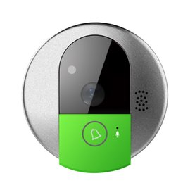 Wholesale Doorbell Peephole - Wholesale- VStarcam HD 720P Wireless WiFi Doorbell Camera Intercom smart IP Video Doorcam Phone Recorder peephole IOS Android APP Control