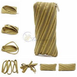 Wholesale Rope Dresses - Unique Design EDC Debris Pouch Outdoor Survival Paracord Zipper Bag Sports Parachute Cord Rope Handbag