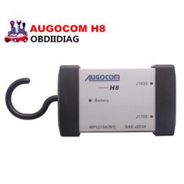 Wholesale Interface Nexiq - AUGOCOM H8 Truck Diagnostic Tool PC-to-Vehicle Interface Easy Portability Increases Flexibility same function as Nexiq