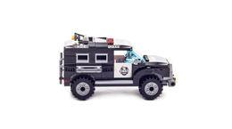 Wholesale Diy Blocks Police - building blocks set mylb City Series Police Swat Car Building Block sets Kids Educational Bricks Toys Compatible With diy