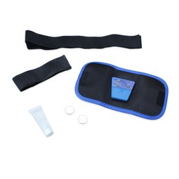 Wholesale Exercise Belt For Free - Body Building ABS Belt For Electronic Gymnastic Exercise Toning Toner Waist Muscle body massager Free Shipping
