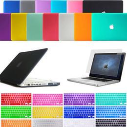 Wholesale Macbook Pro 13 Keyboard Case - Laptop Lid Hard Rubberized Case + Keyboard Cover for Macbook Air Pro Retina 11
